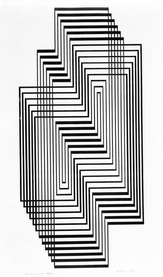Josef Albers, Ascension (1942)