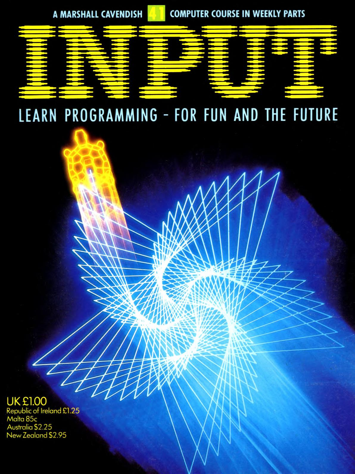 Cover of Input Magazine Vol 4, No. 41 (1984)