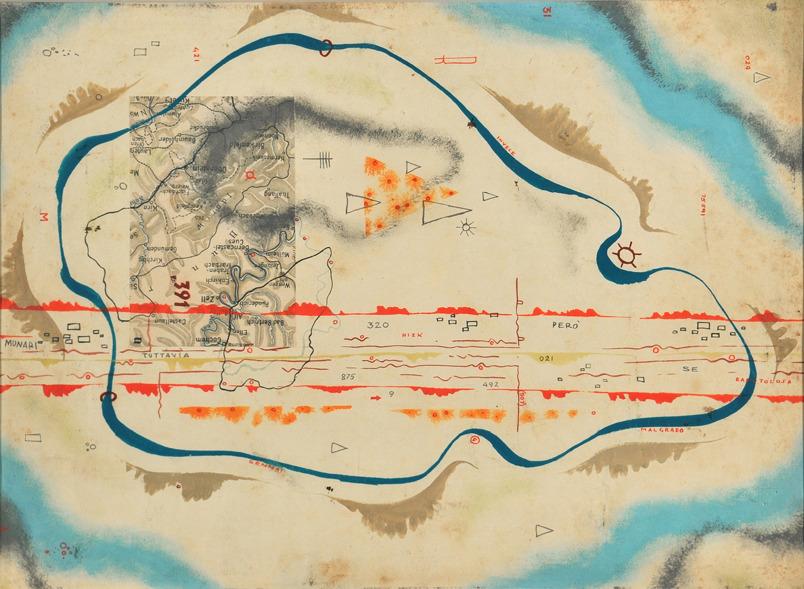 Bruno Munari, Cosmic Map (1930)