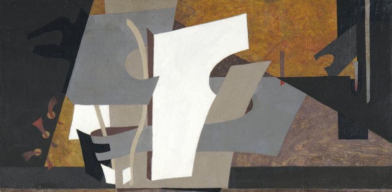 "Esphyr Slobodkina, ""Spring #3"" ca. 1948"