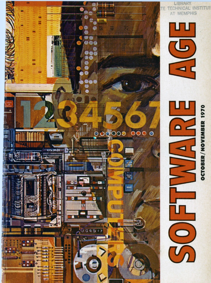 Cover of Software Age, October/November 1970