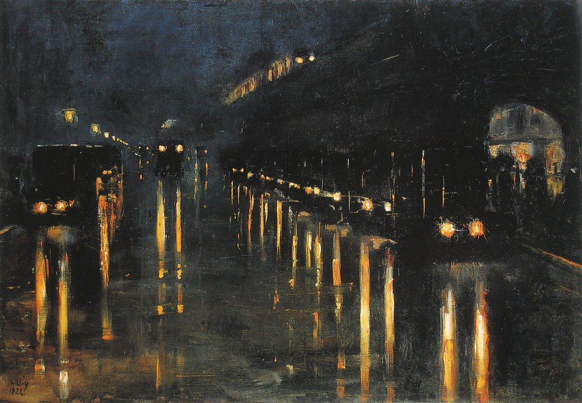 Ury, Hochbahnhof Bülowstraße, 1922