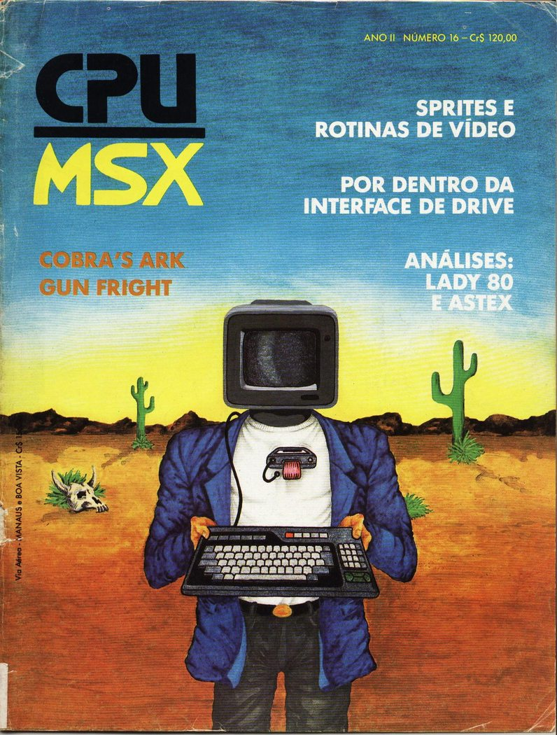Cover from CPU Magazine (Brazil) 1990