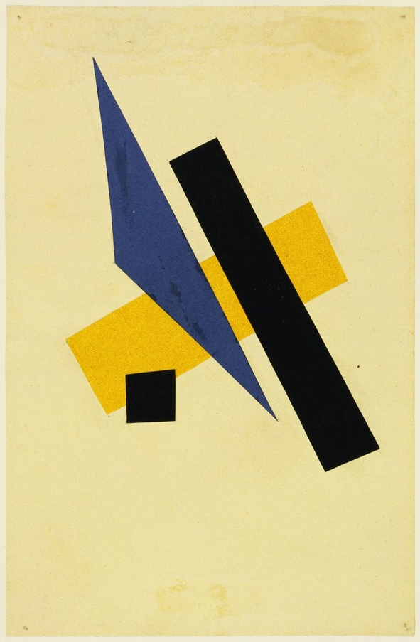 Lyubov Popova, Untitled (1917)